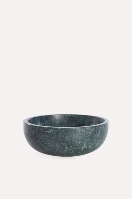 Hawkins New York Mara Marble Bowl Large in Green