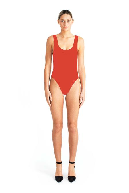 Beth Richards Tank One Piece - Red