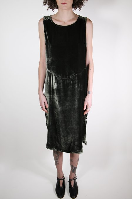 Priory Velvet Arc Dress