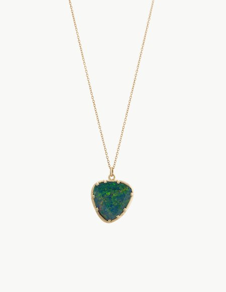Kathryn Bentley Blue Opal Organic Amulet Pendant