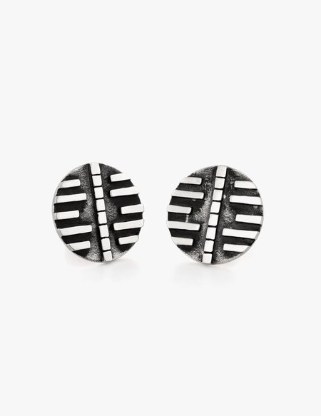 Dream Collective Deco Disc Studs #2