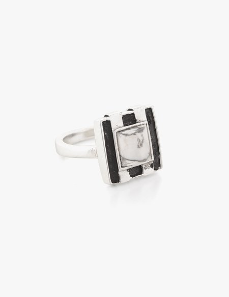 Dream Collective Deco Ring #2 White Howlite
