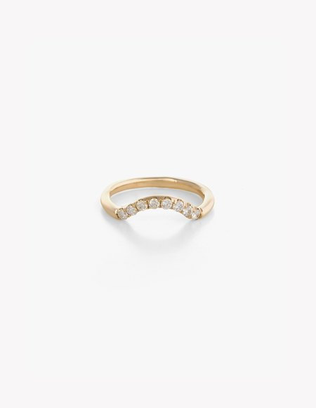 Kathryn Bentley Diamond Arched Band