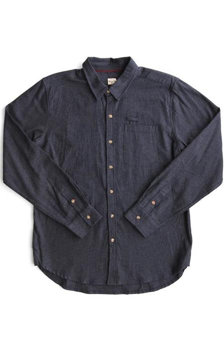 Bridge & Burn Foster Navy Houndstooth