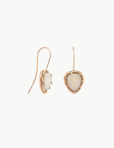 Kathryn Bentley Opal Organic Amulet Earrings
