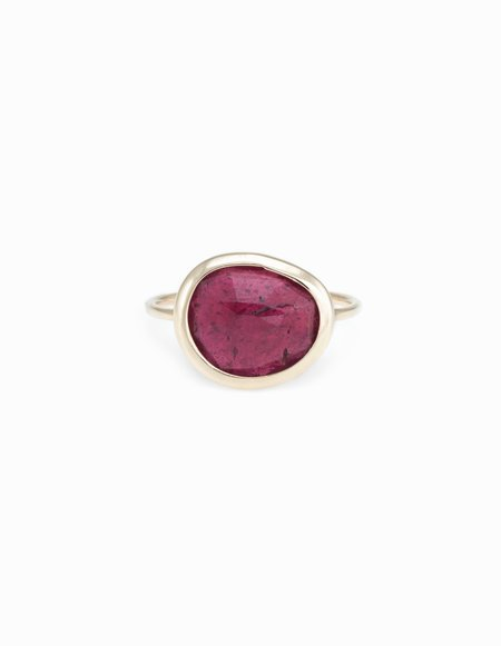 Kathryn Bentley Slice Ring - Ruby