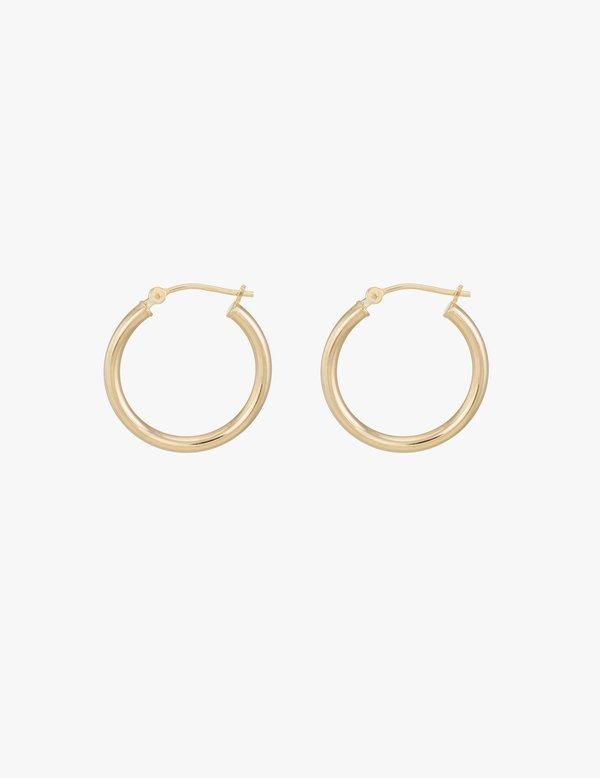 Kathryn Bentley Small Classic Gold Hoops