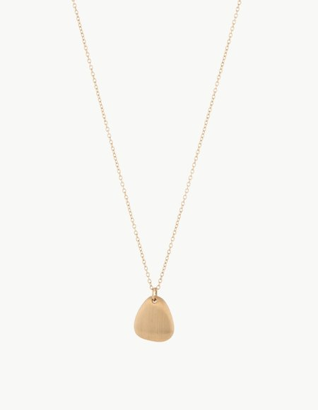 Kathryn Bentley Small Ingot Pendant - 14k Gold