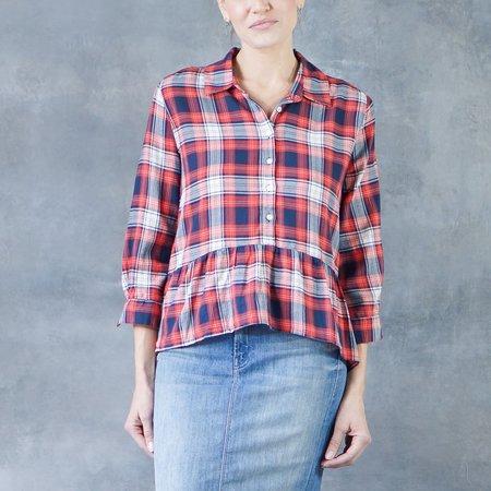 Trovata The Chrissy Peplum Shirt