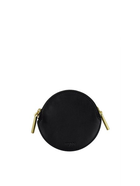 Flynn Rudy Circle Zip Pouch - Black