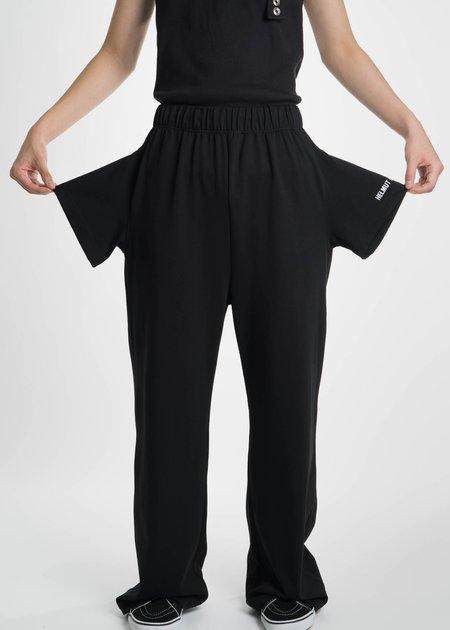 Helmut Lang Black T-Shirt Sweatpants