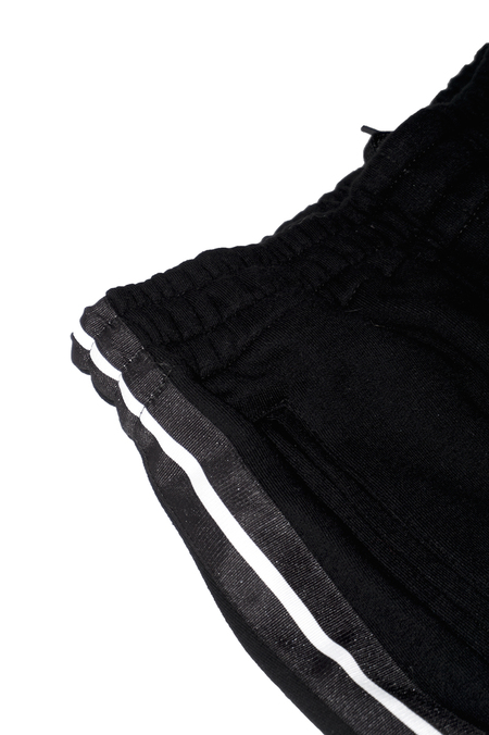 Unisex Neige Black Sweatpant