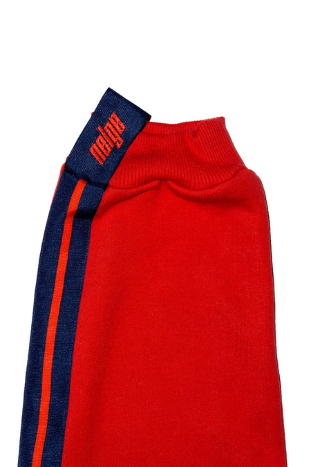 Unisex Neige Red Sweatpant