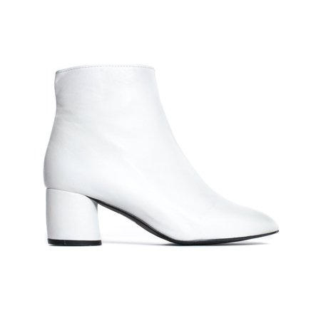 L'Intervalle Davenport Boots - White Leather