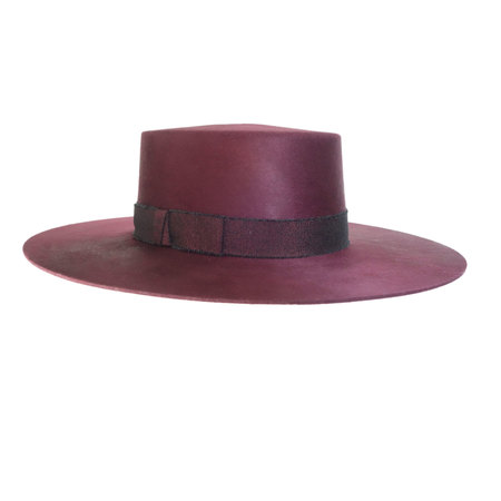 Yestadt Millinery Division Maroon