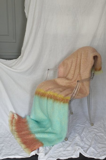 Uniforme Mohair Blanket - Tulum