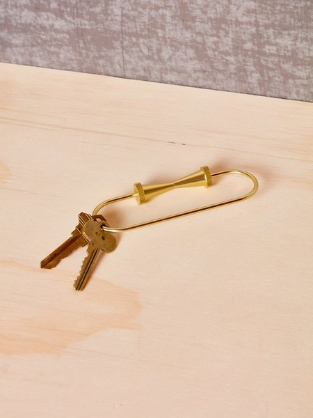 Unisex Tom Dixon Loop Keyring