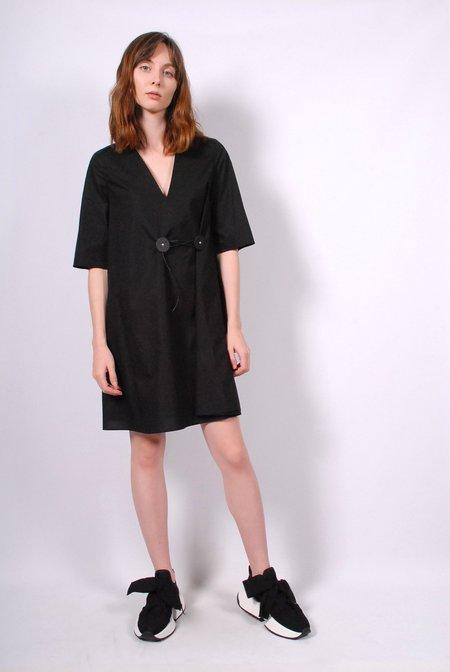 MM6 by Maison Margiela Kimono Dress - Black