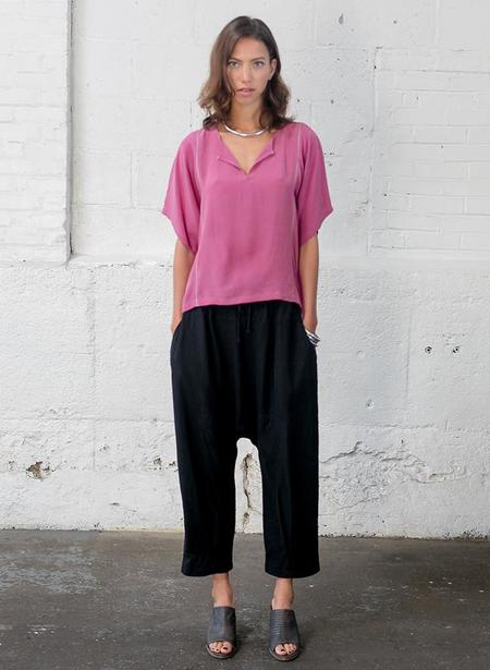 Seek Collective Yuko Top - Poser Pink
