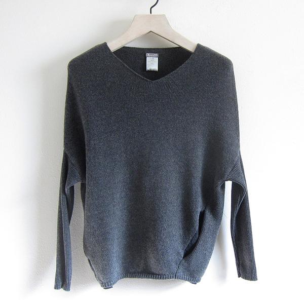 Kristensen du Nord Drop-shoulder Cashmere Pullover - Dark Grey