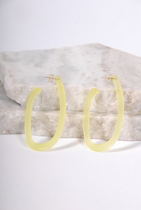 Rachel Comey Maya Earrings - Lime