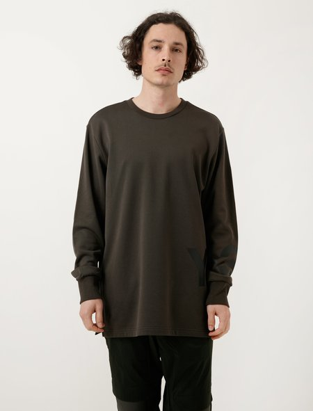 Y-3 Mens Classic Sweater - Black Olive