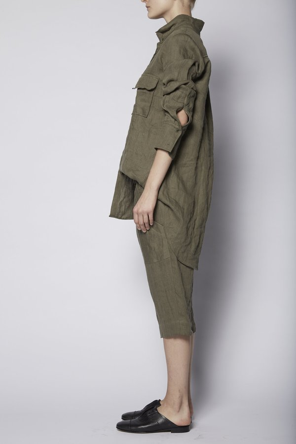KES Military Jacket Button-Up