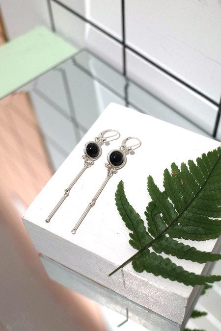 Luz Ortiz Agate Earrings