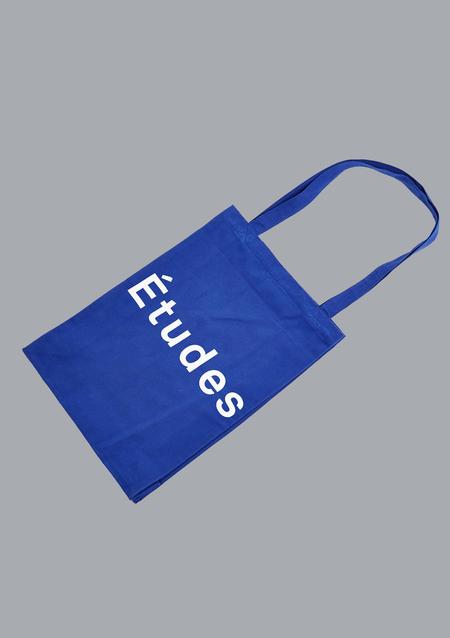 unisex Études Studio Etudes October Tote Bag - Blue