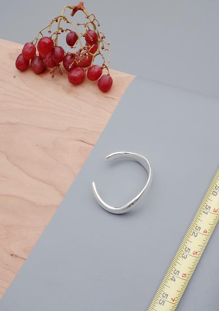 Unisex Ribeyron Organic Small Palladium Bracelet