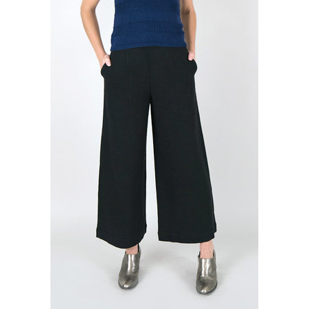 7115 NYC by Szeki Wide-Legged Trouser - Black