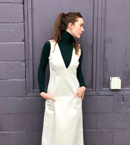 Sunja Link Canvas Jumper Dress - Natural Canvas