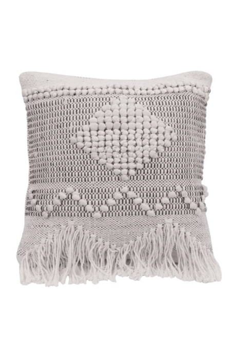 Sunday Supply Co. Textured Cotton Pillow- Ivory
