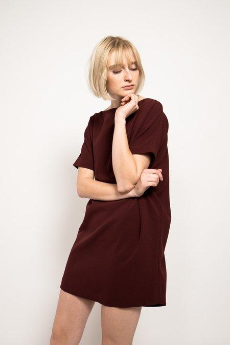 KAAREM Angle Mini Dolman Open Back Dress