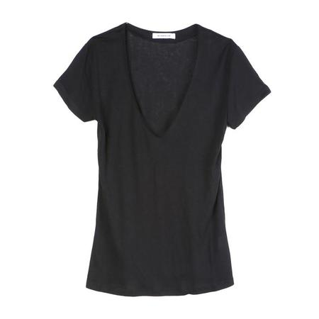 The Fashion Club Black Home V-Neck Tee