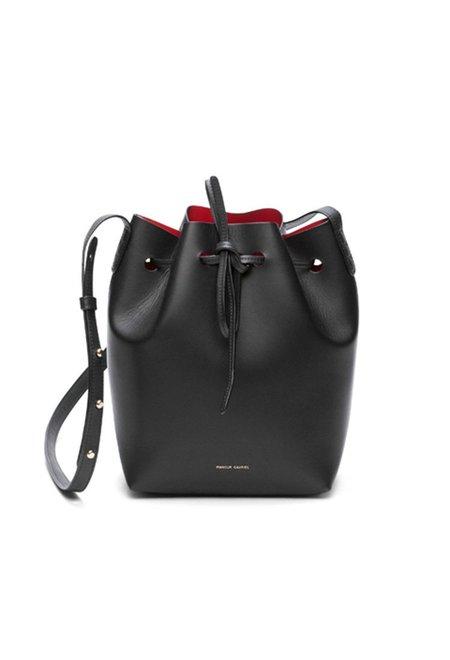Mansur Gavriel Black/Flamma Bucket Bag