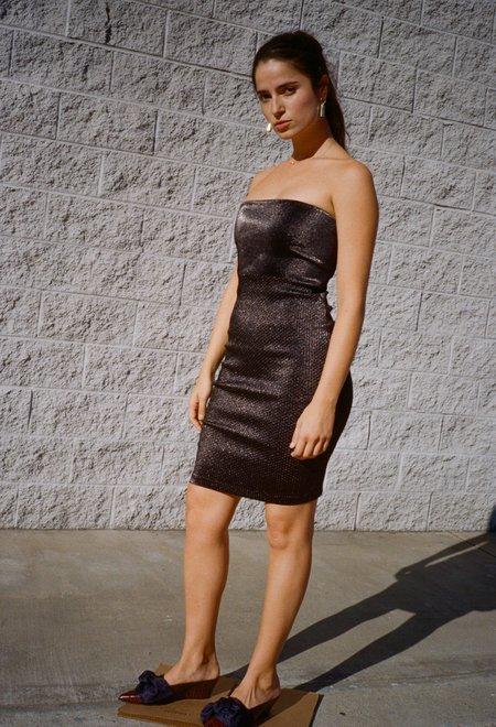 Area Blix Tube Dress Black