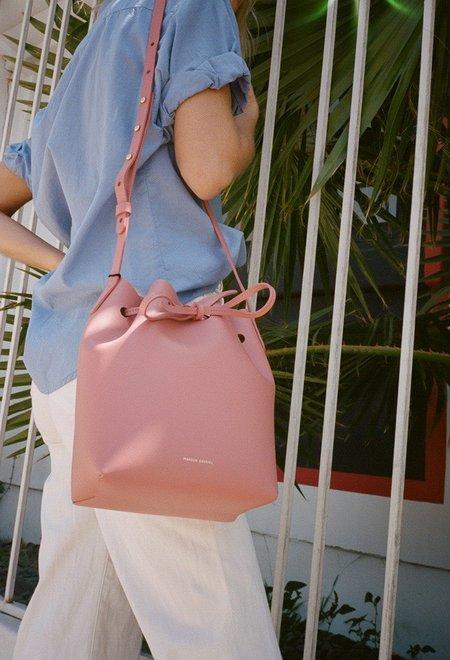 Mansur Gavriel Blush Mini Bucket Bag