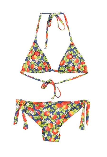 Alga Beachwear Lemon Print String Bikini