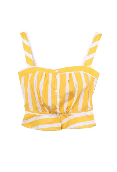 Thierry Colson Rossa Striped Camisole