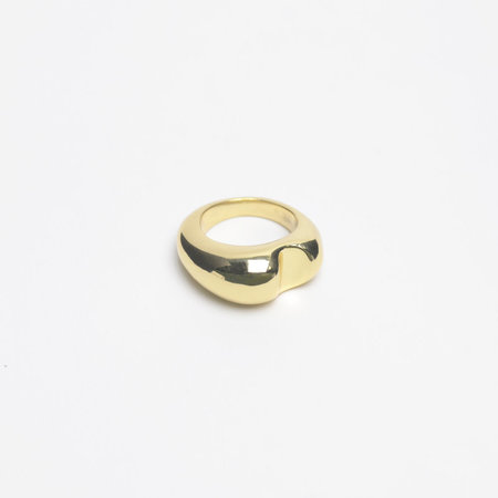 Leigh Miller Brass Bite Ring
