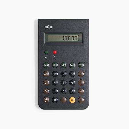 Braun Calculator in Black