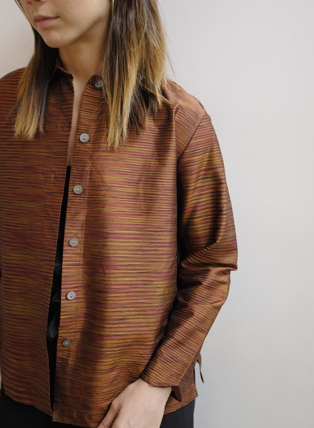 Hey Jude Vintage Striped Boxy Blouse