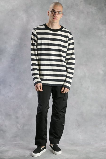 MR. COMPLETELY Long Sleeve Striped Shirt