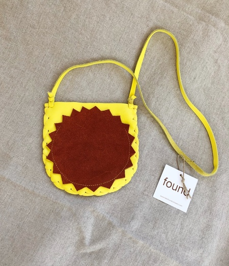 MANIMAL badge pouch - YELLOW