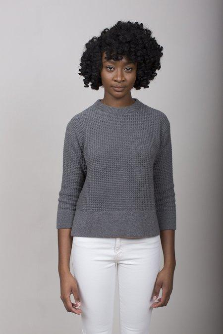 Evam Eva Cashmere Aze Sweater - Grey