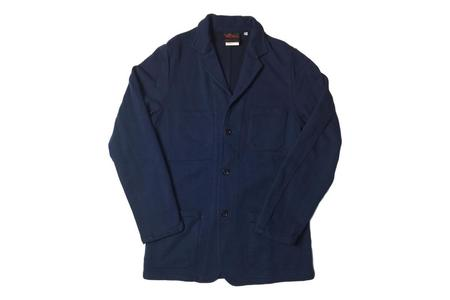 Vetra Knit Workwear Jacket - Marine