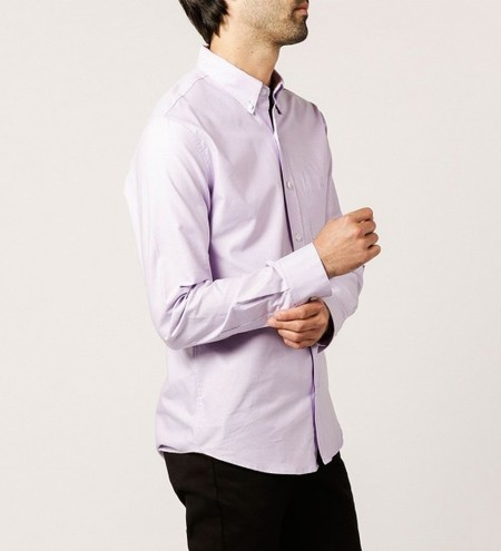 WELCOME STRANGER L/S Oxford Clean Seam Shirt