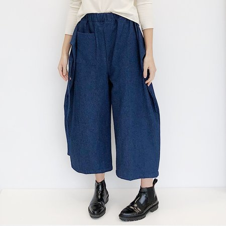 Open Air Museum Denim Apron Pants