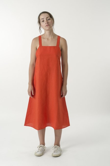Good Studios Hemp Linen Apron Dress